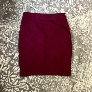 NWOT Express pencil skirt size 8